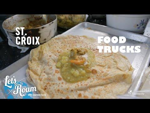 Food Trucks in St.  Croix, U.S. Virgin Islands