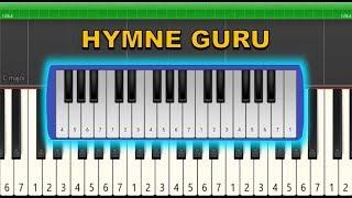 Not Pianika / Not Piano Hymne Guru (Tutorial)