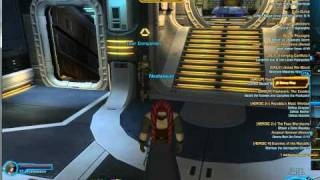 SWTOR Star Wars The Old republic Jedi Consular Ship, space combat