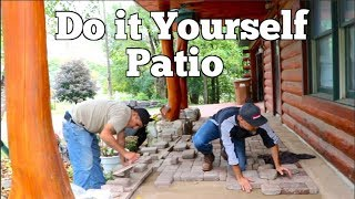 How to Rebuild a patio for beginners- Step by Step DIY Guide to make an Old patio look like new