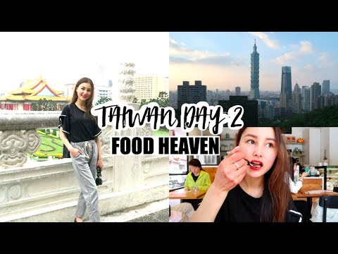 Taiwan Trip Day 2⎮Taipei 101, Chaing Kai Shek Memorial, Elephant Mountain & LOTS of food