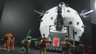 MEGA Bloks TMNT Classic Series TECHNODROME Playset toy review
