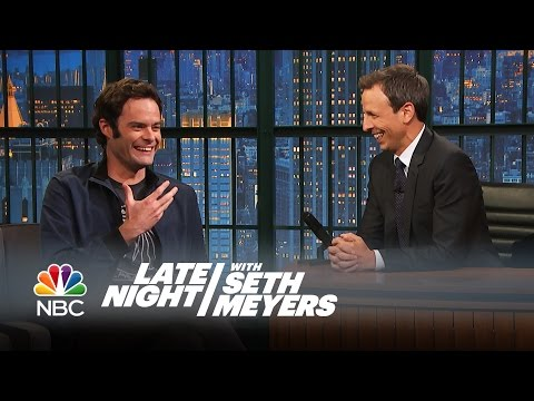 Download Youtube: Bill Hader Reveals All the Things Seth Taught Him at SNL - Late Night with Seth Meyers