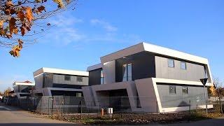 Case construite pe structura metalica cu placile StoneREX