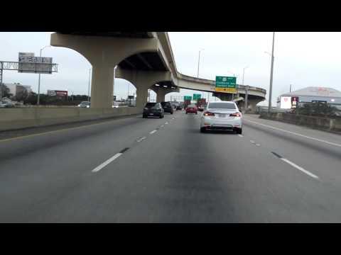 Crescent City Connection Bridge eastbound/inbound