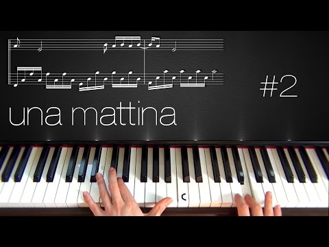 Una Mattina ~ Piano Tutorial ~ Part 2