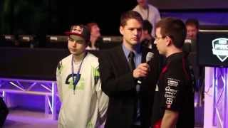 Aches vs Nadeshot MLG Dallas 2013 Interview with Puckett