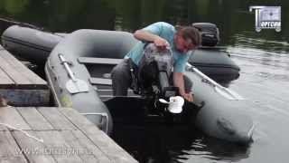 HIDEA HD15FHS - Двухтактный подвесной лодочный мотор Хайди 15 л.с. - видео от ТоргСин