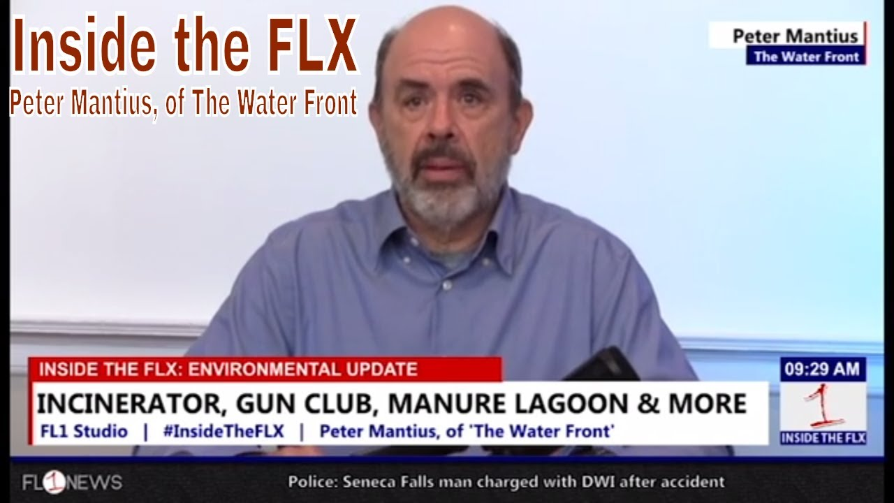 INSIDE THE FLX: Mantius talks incinerator, future of 'Manure Lagoon' in Mentz
