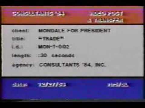 Mondale for President 1984