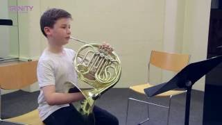 Trinity College London Grade 3 French Horn Improvisation Test (stylistic stimulus)