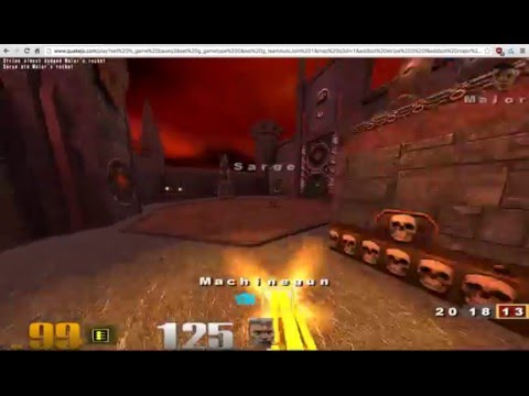 Quake 3 in a web browser. No plugins.