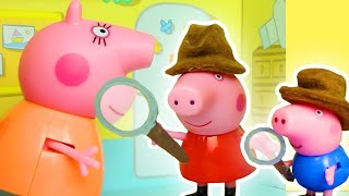 Peppa Pig Official Channel  Peppa Pig Stop Motion: Peppa Pig&#39s Teddy Bear