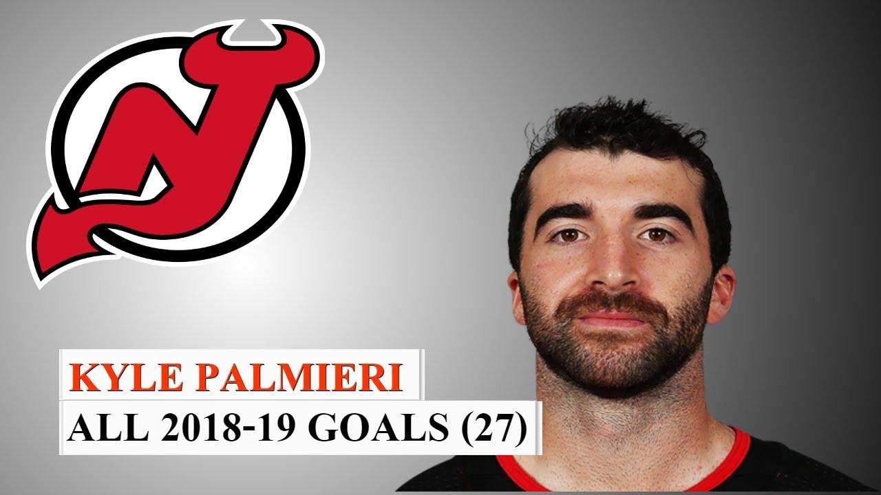 Kyle Palmieri (#21) All 27 Goals of the 2018-19 NHL Season