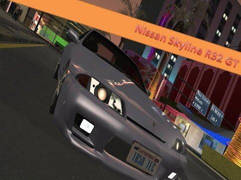 GTA San Andreas | Nissan Skyline R32 GT