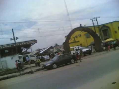 Random walk ( Igun Street, Benin City, Edo State, Nigeria)