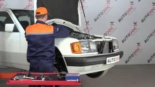 Hoe Stabilisator vervangen MERCEDES-BENZ 190 (W201) - gratis instructievideo