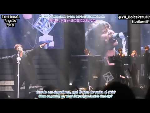 I'm Glad I Fell In Love With You - Jung Yonghwa [Eng/Esp Sub + Rom + Kanji]