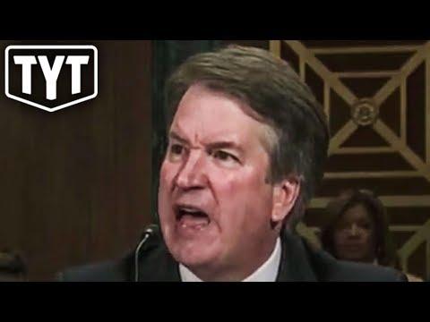 Kavanaugh Goes On Emotional Tirade During Hearing