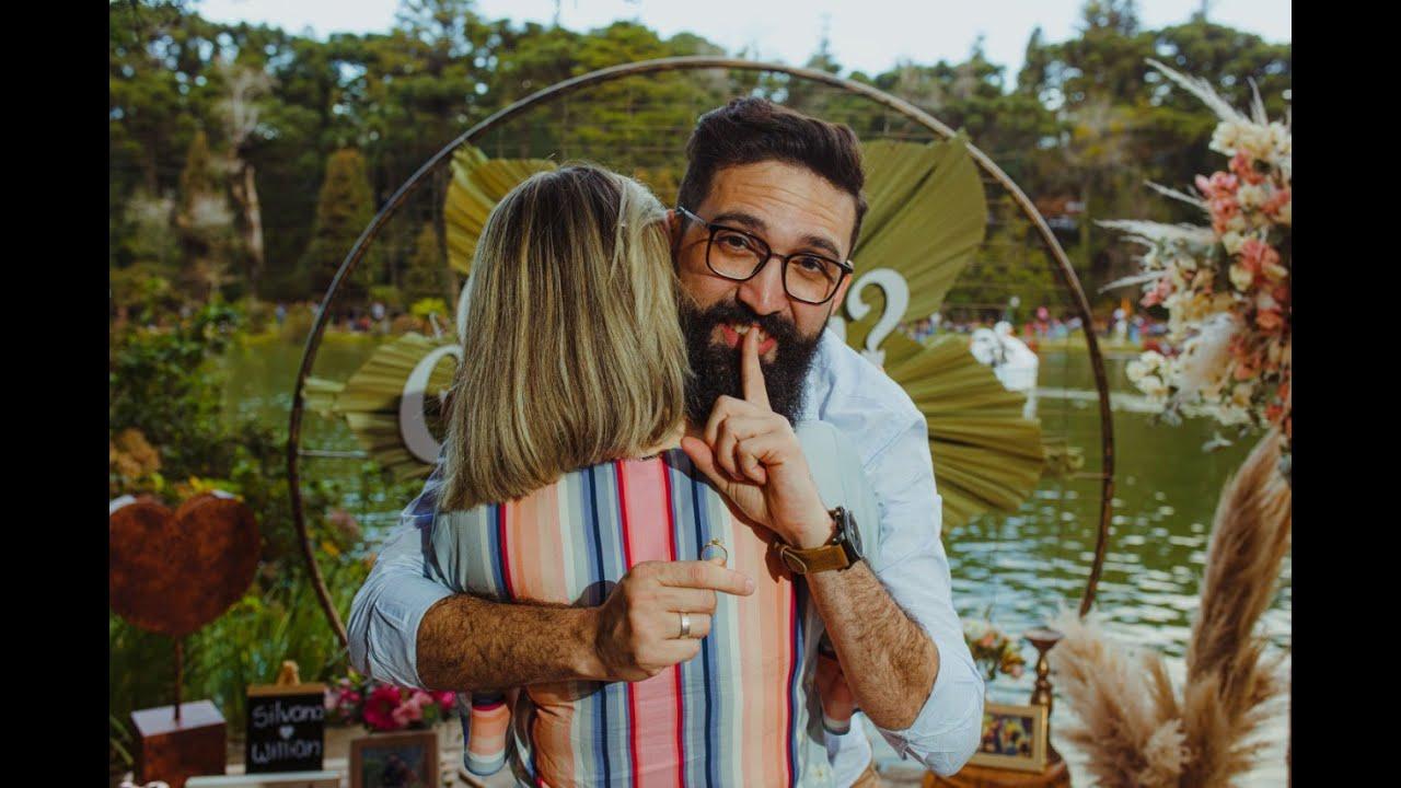 Ela disse não! Pedido de Casamento Surpresa em Gramado