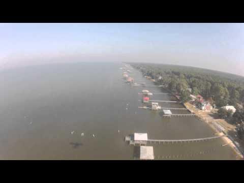 Flying Mobile Bay Eastern Shore