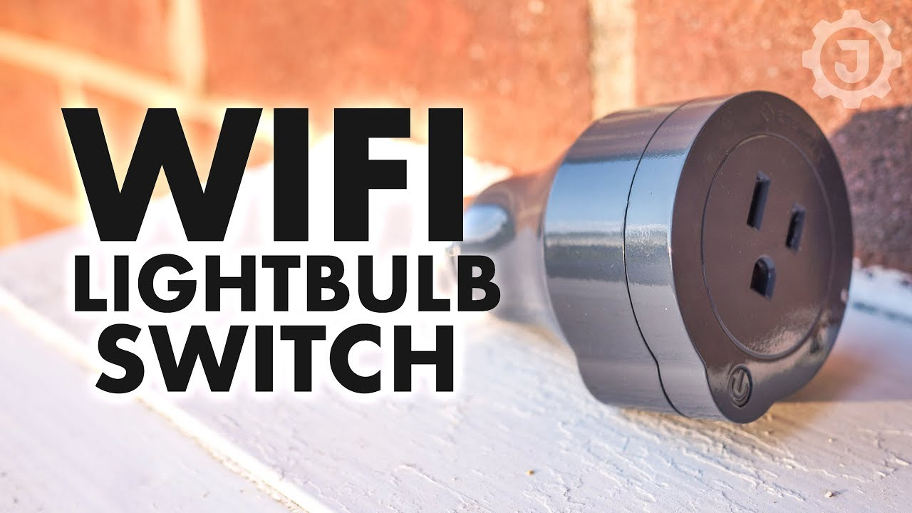 Wifi Lightbulb Switch & Energy Monitor
