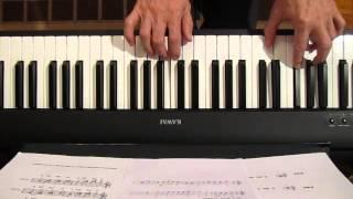 Klavir, Resavo, vodo ledna, akordi, 01