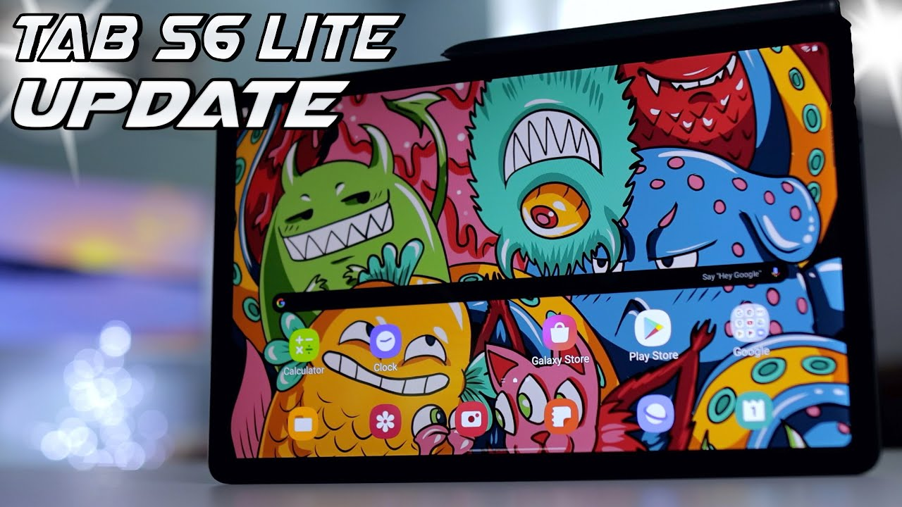 Tab S6 Lite - Major Update! (What features have been added?)