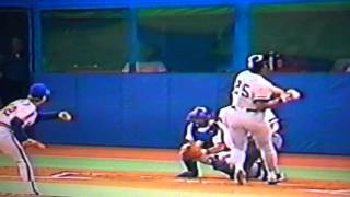 Don Baylor Boston Red Sox Breaks All Time Hit By Pitch Record 1987, Yankee Stadium!