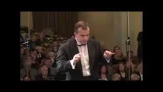 Dainius Pavilionis conducting P.I.Tchaikovsky Symphony No.4, III mov.