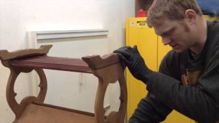 Liberty Bell Furniture Repair End Table Refinishing Process
