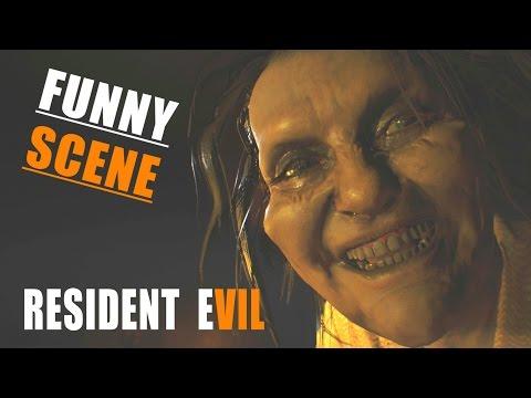 RESIDENT EVIL 7 - Marguerite KILLS Clancy (Funny Scene) | Bedroom DLC