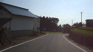 ホンダ スーパーカブ110 JA10 福島県道337号喜多方河東線