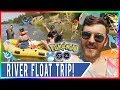 DESTINATION POKEMON GO! American River Float Trip with RJ & Bay Area Crew! Pokemon GO Travel Ideas