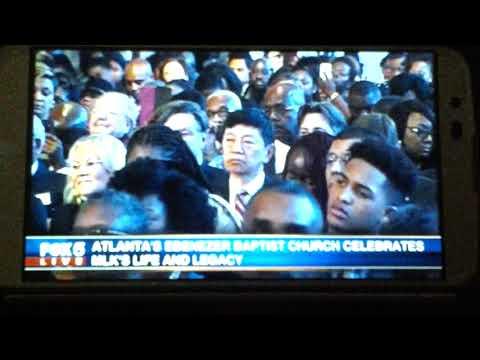 Atlanta Atlanta's Ebenezer Baptist Church Celebrate Martin Luther King Jr's Life and Legacy 2018 (Dr