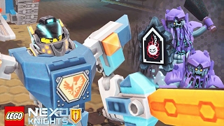 LEGO NEXO KNIGHTS - Evil Wrecking Wrath Vs THE ULTIMATE NEXO KNIGHTS