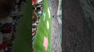 Ouverture du match Pologne vs Portugal