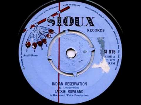Jackie Rowland ‎– Indian Reservation [1972]