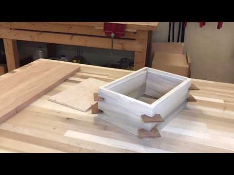 What Happens in Beginning Woodworking Class   Box Making Day 1