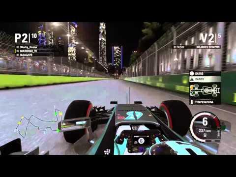 Directo F1 de locura PS4 en vivo de MARIOSk8_19 Rokkie979
