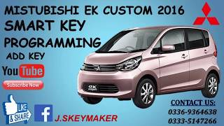 How To Program Mitsubishi EK Custom 2015 Add Smart Key Programming