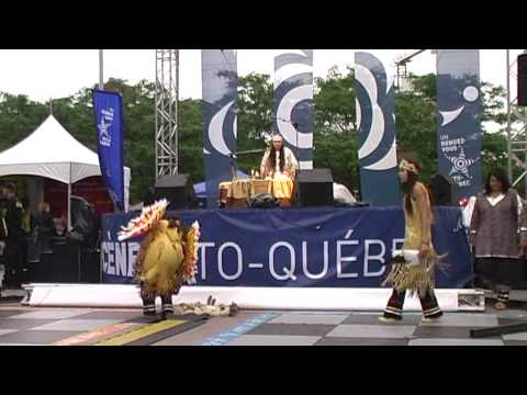 Andicha n'de Wendat in Montreal: Dance with the audience