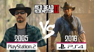 Red Dead Redemption 2 - PS2 VS PS4 /Graphics Comparison