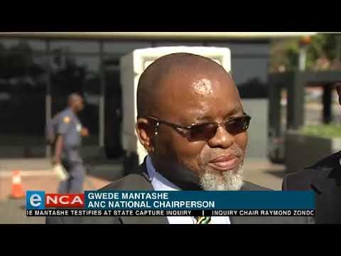 Mantashe briefs media after state capture testimony