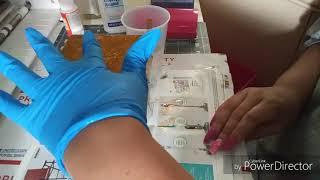 DIY Glitter Ceramic Tile Coaster