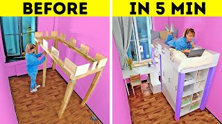 EXTREME ROOM MAKEOVER || Easy Ways To Upgrade Your Bedroom