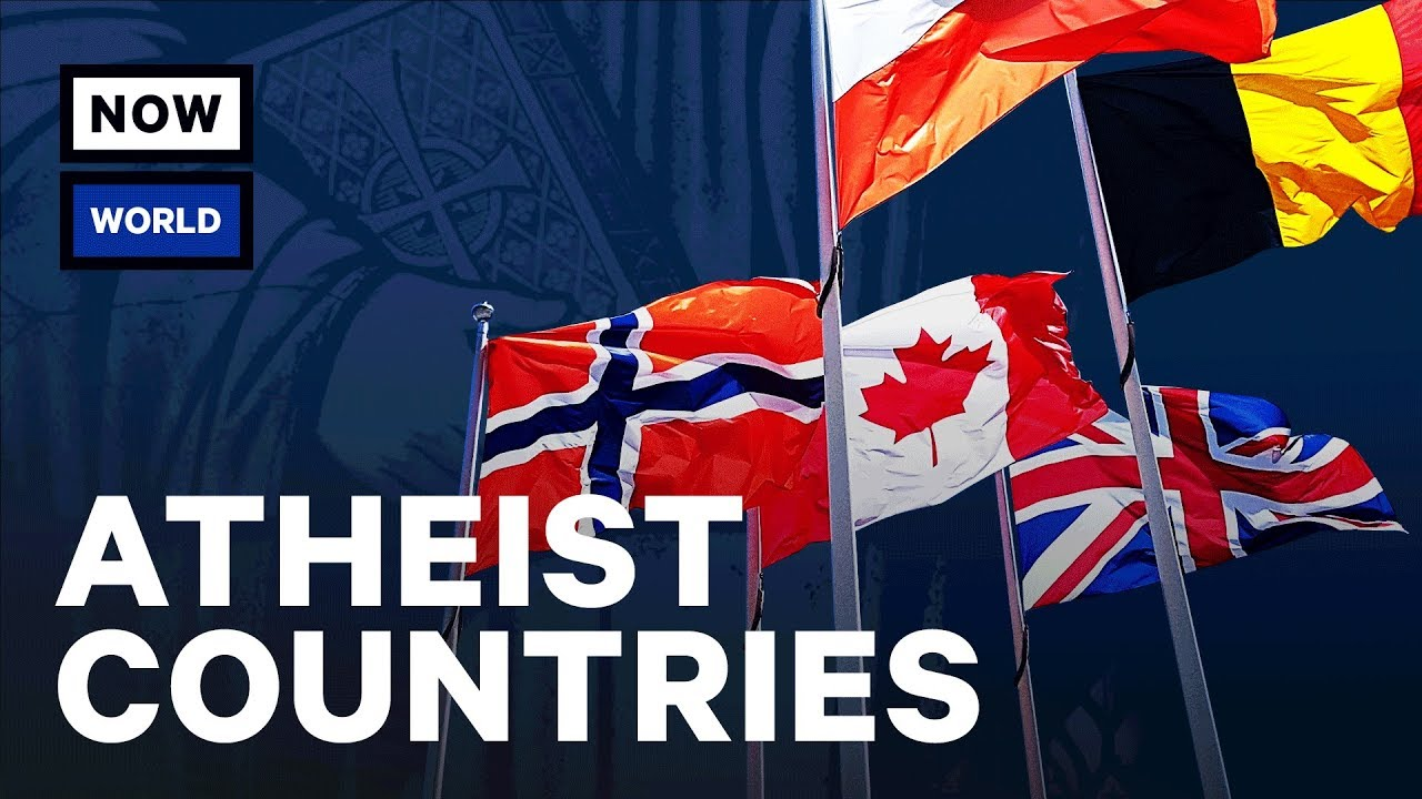 what are the most atheist countries nowthis world youtube