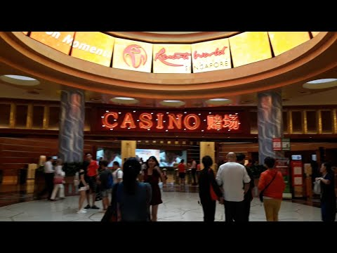 NGERI CUACA EXTREME DI CASINO RESORT WORLD SENTOSA ISLAND SINGAPORE