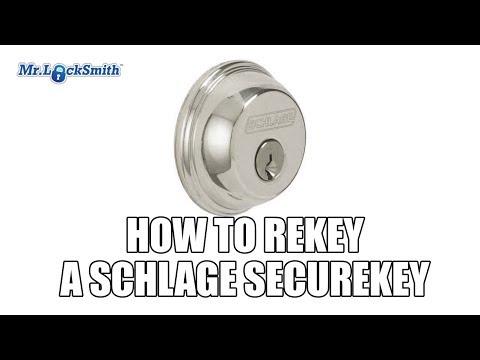 Mr  Locksmith How to Rekey a Schlage Secure Key