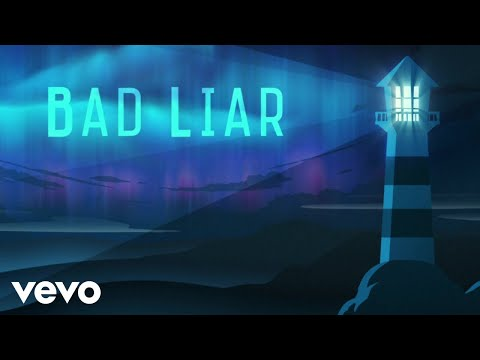 Imagine Dragons - Bad Liar (Lyric Video)